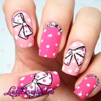 фото розовые ногти дизайн фото 2016