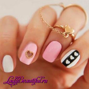 Романтический весенний дизайн ногтей 2016