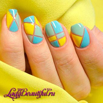 Фото весеннего дизайна ногтей