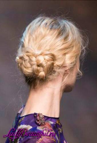 Легкие прически на каждый день с косами