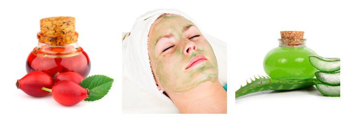 Фото: Рецепт маски для лица из алоэ и шиповника
