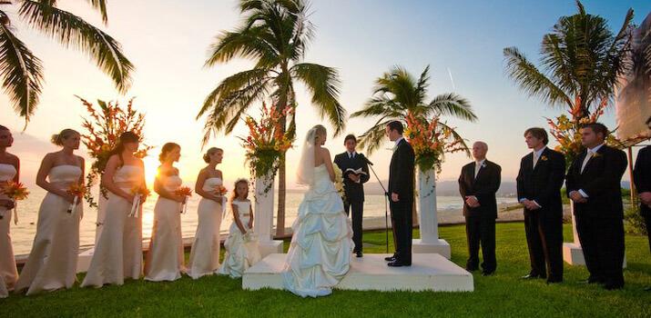 Фото: Оригинальные места для празднования свадьбы - Экзотический остров