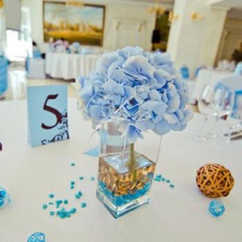 Фото: Модный цвет для свадьбы - голубой