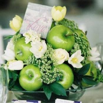 Фото: Модный цвет для свадьбы - зеленый