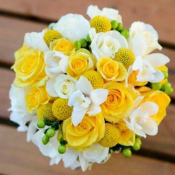 Фото: Модный цвет для свадьбы - желтый