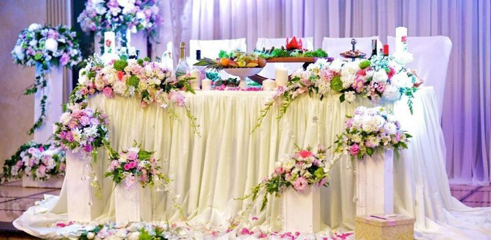Фото: Модный декор свадьбы 2016
