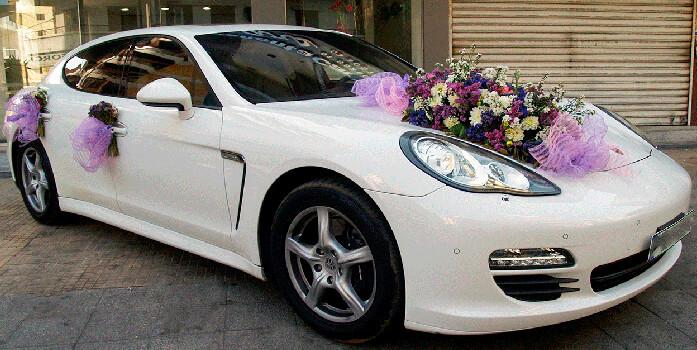 Модные авто для свадьбы 2016: фото
