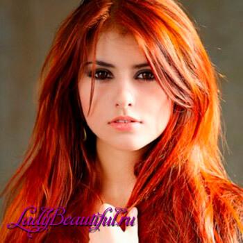 Фото: Модные цвета волос - Рыжая бестия