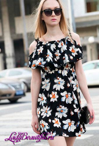 Платья-туники для полных девушек
