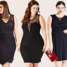 Платья для полных девушек: фото