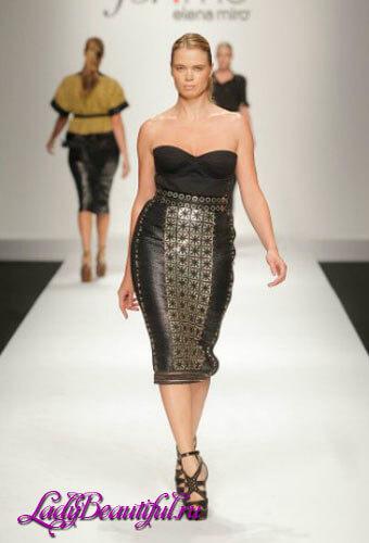 Платья для полных девушек: бренд Elena Miro
