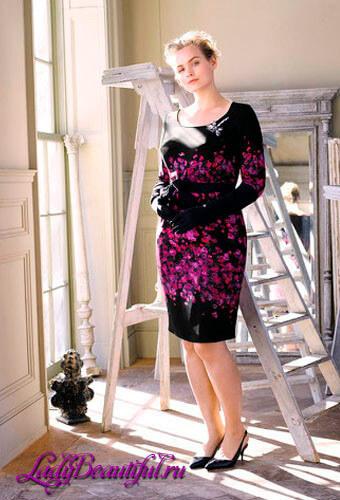 Платья для полных девушек: бренд Marina Rinaldi