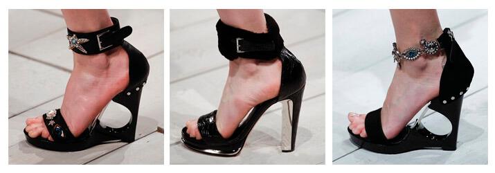 Фото: Женская классическая обувь 2016 - Alexander McQueen