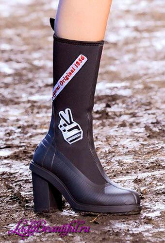 Модная женская обувь на каблуке осень-зима 2016-2017