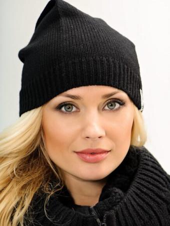 Модные вязаные шапки осень-зима 2016-2017