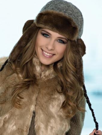 Модные меховые головные уборы осень-зима 2016-2017
