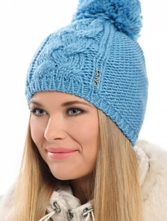Модные шапки с помпоном осень-зима 2016-2017
