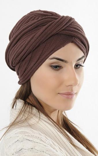 Модные шапки-тюрбан осень-зима 2016-2017