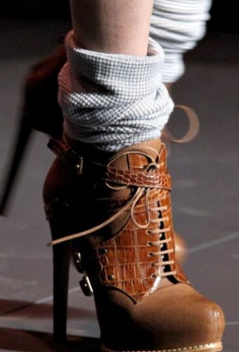Модная женская обувь сезона осень-зима 2016-2017