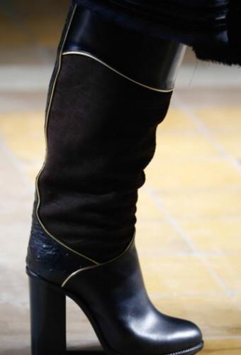 Модная обувь с широким каблуком осень-зима 2016-2017