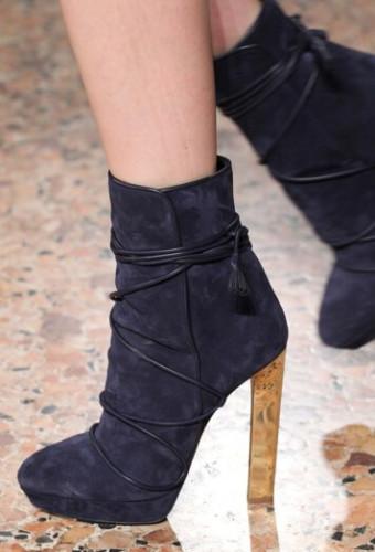 Модная бархатная обувь осень-зима 2016-2017
