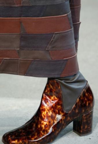 Модная лакированная обувь осень-зима 2016-2017
