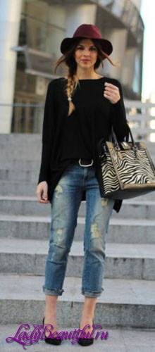 Модные джинсы 2016: «Бойфренды»
