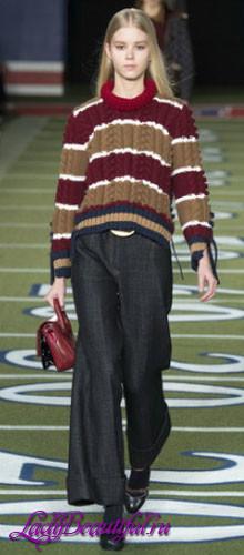 Модные джинсы 2016: фото с модных показов