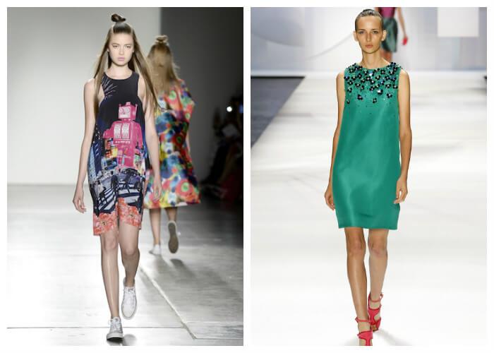 Короткие летние платья 2016 в стиле беби дол