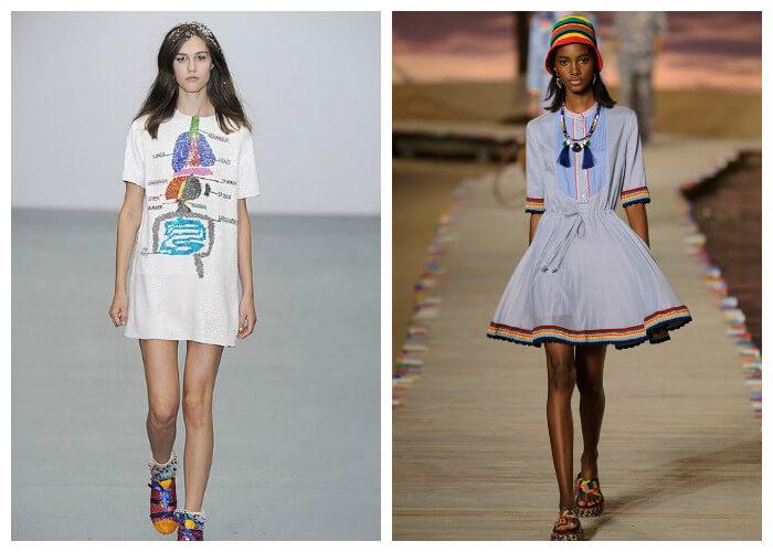 Летние платья 2016: фото новинок