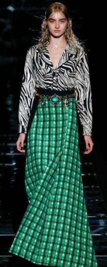 Модные длинные юбки осень-зима 2016-2017