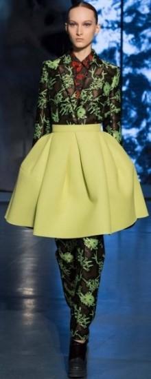 Модные юбки с завышенной талией осень-зима 2016-2017