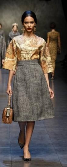 Модные утепленные юбки осень-зима 2016-2017