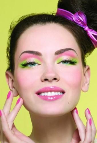 Модный макияж кукольные глаза осень-зима 2016-2017