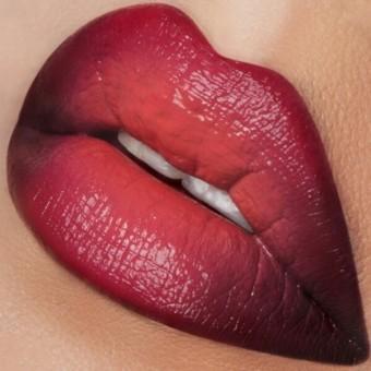 Модный макияж губ осень-зима 2016-2017