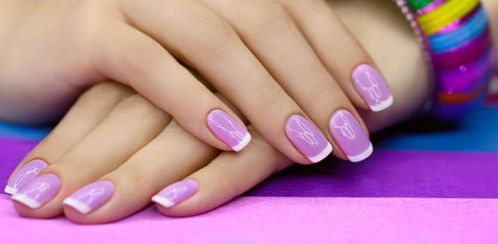 Френч на коротких ногтях: новинки 2016