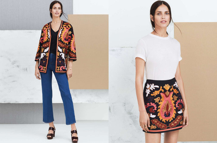 H & M коллекция в стиле бохо
