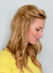 Легкие и быстрые прически на средние волосы
