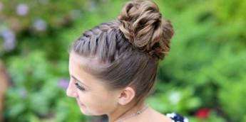 Легкие и быстрые прически на средние волосы: идеи, фото, видео