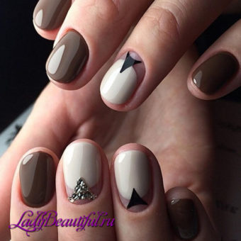 Основные тенденции маникюра на короткие ногти
