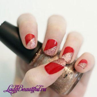 Нейл — геометрия на короткие ногти