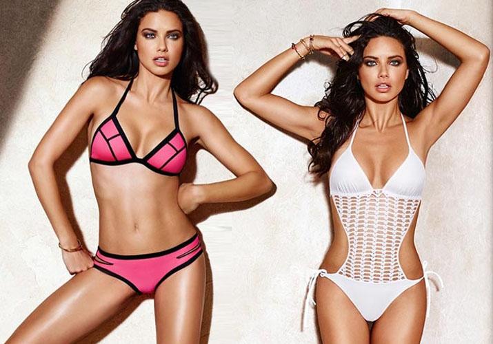 Супер модель Адриана Лима стала новым лицом итальянского бренда Calzedonia