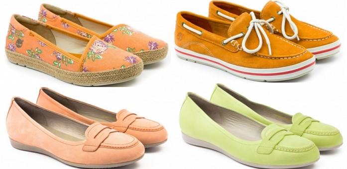Модные цвета слипонов и мокасинов лето 2016