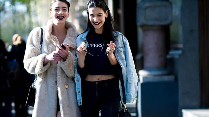 Модные образы уличной моды осень-зима 2016-2017