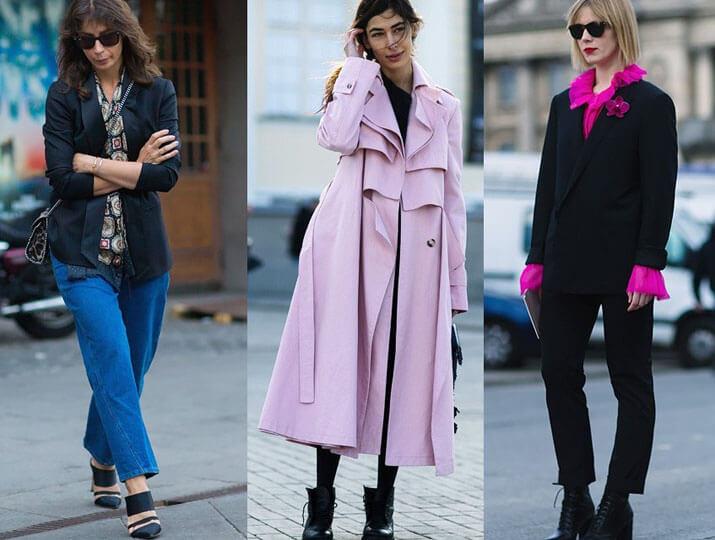 Модные образы уличной моды — показы в Лондоне