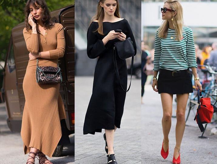Модные образы уличной моды — показы в Милане