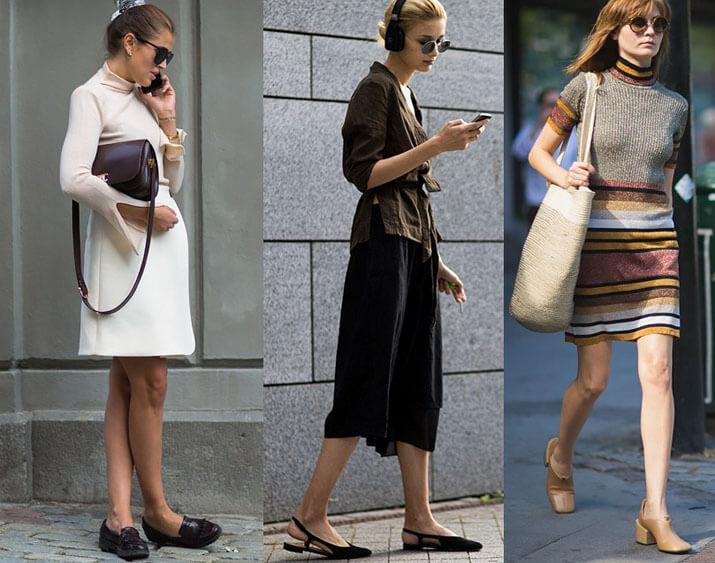 Модные образы уличной моды — показы в Стокгольме