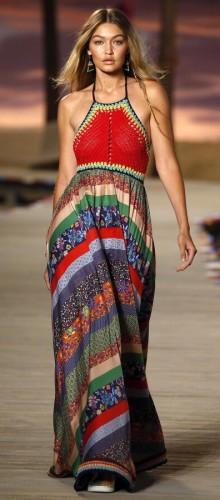 Модные сарафаны весна-лето 2016 — Закрытая шея