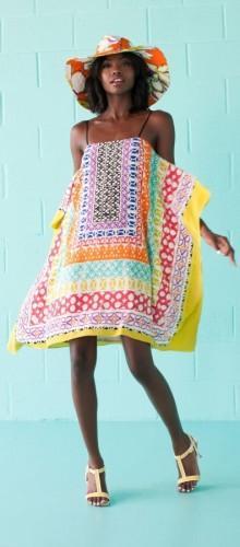Модные сарафаны с бретелями весна-лето 2016