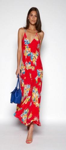 Модные сарафаны весна-лето 2016 — цветочный принт